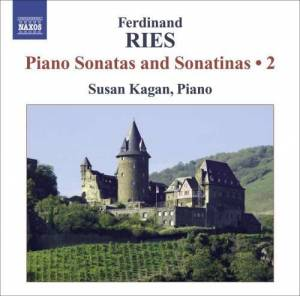 Cover - Ferdinand Ries: Piano Sonatas And Sonatinas 2