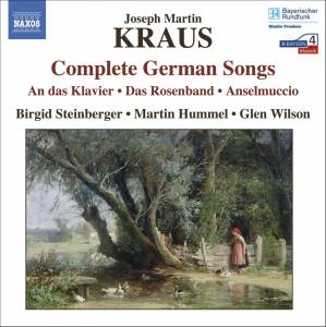 Cover - Joseph Martin Kraus: Complete German Songs