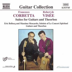 Cover - Robert de Visée: Suites For Guitars And Theorbos