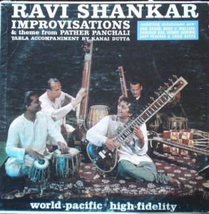 Cover - Ravi Shankar: Improvisations And Theme From Pather Panchali