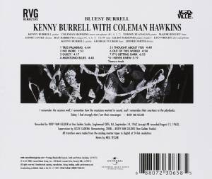 Kenny Burrell: Bluesy Burrell (CD) - Bild 2