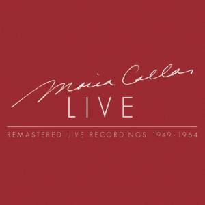Cover - Badesalz: Maria Callas - Remastered Live Recordings 1949-1964