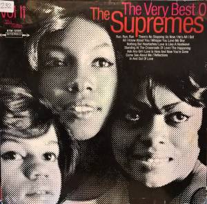 Cover - Supremes, The: Very Best Of The Supremes Vol II, The