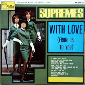 Cover - Supremes, The: With Love (From Us To You)