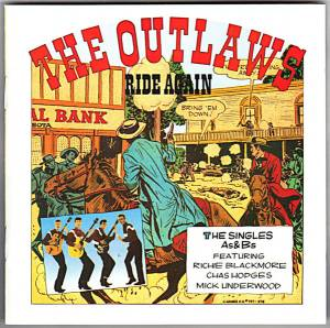Cover - Outlaws, The: Ride Again (The Single As & Bs)