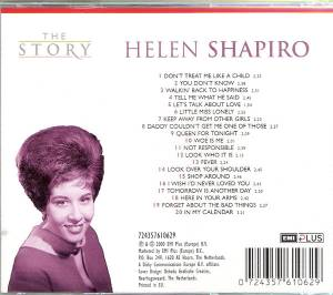 Helen Shapiro Look Over Your Shoulder