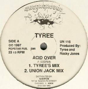 Cover - Tyree: Acid Over