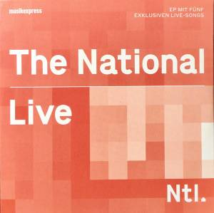 The National: Live - Cover