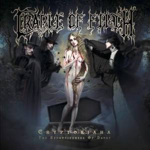 Cradle Of Filth: Cryptoriana: The Seductiveness Of Decay - Cover