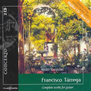Cover - Francisco Tárrega: Complete Works Fo Guitar