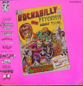 Cover - Jim Dickinson: Rockabilly Psychosis And The Garage Disease