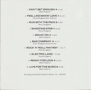 Bad Company: 10 From 6 (CD) - Bild 3