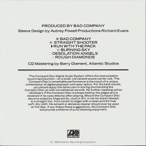 Bad Company: 10 From 6 (CD) - Bild 4