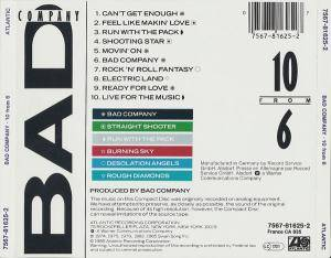 Bad Company: 10 From 6 (CD) - Bild 6