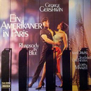 George Gershwin: Ein Amerikaner In Paris / Rhapsody In Blue / Cuban Overture - Cover
