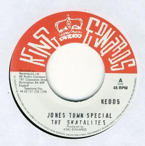"Eric ""Monty"" Morris, Skatalites, The: Jones Town Special - Cover"