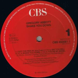 Gregory Abbott: Shake You Down (LP) - Bild 3