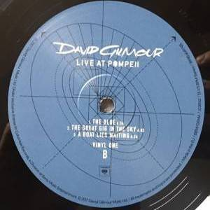 David Gilmour: Live At Pompeii (4-LP) - Bild 10