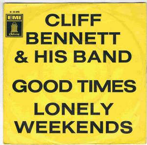 Cover - Cliff Bennett And His Band: Good Times