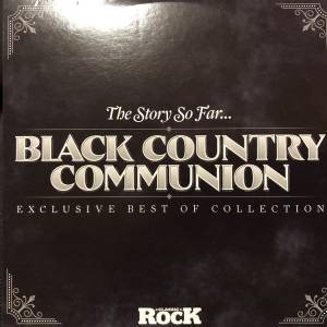 Cover - Black Country Communion: Story So Far..., The