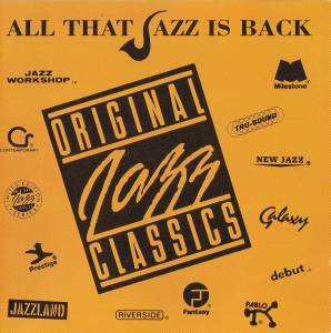 Cover - Red Garland Trio: All That Jazz Is Back