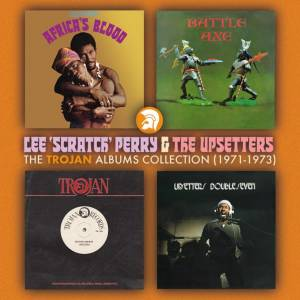 Cover - Lee Perry & The Upsetters: Trojan Album Collection (1971 To 1973), The