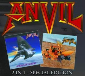 Anvil: Speed Of Sound / Plenty Of Power - Cover