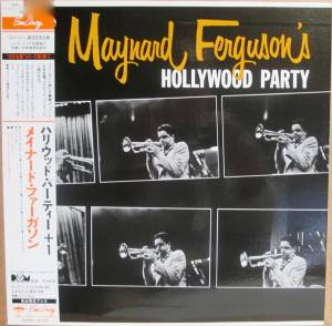 Cover - Maynard Ferguson: Maynard Ferguson's Hollywood Party