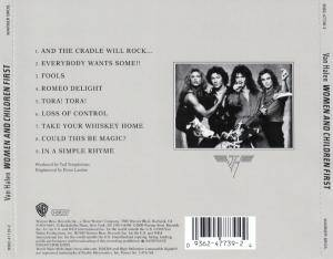 Van Halen: Women And Children First (HDCD) - Bild 3