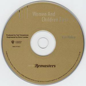 Van Halen: Women And Children First (HDCD) - Bild 5