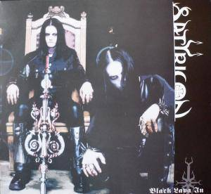 Satyricon: Black Lava In The North - Cover