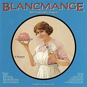 Blancmange: Second Helpings - The Best Of Blancmange - Cover