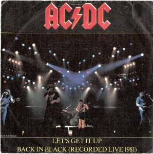 AC/DC: Let's Get It Up - Cover