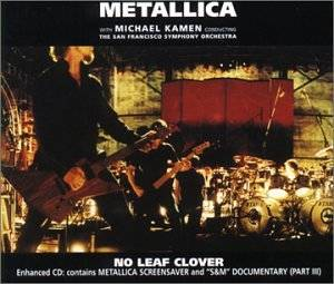 Metallica: No Leaf Clover - Cover