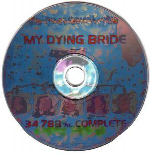 My Dying Bride: 34.788%... Complete (CD) - Bild 2