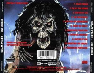Slayer: Live Undead / Haunting The Chapel (CD) - Bild 2