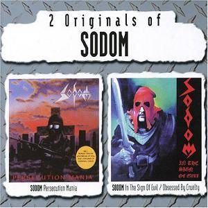 Sodom: Persecution Mania / In The Sign Of Evil / Obsessed By Cruelty (2-CD) - Bild 1