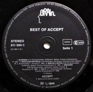 Accept: Best Of Accept (LP) - Bild 3