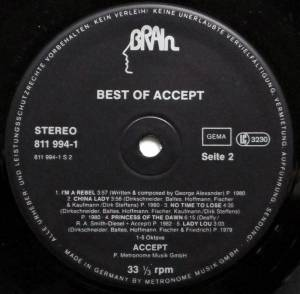 Accept: Best Of Accept (LP) - Bild 4