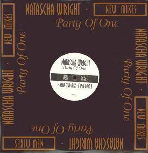 Cover - Natascha Wright: Party Of One - New Mixes