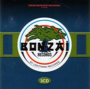 Cover - Blue Alphabet: Bonzai Records