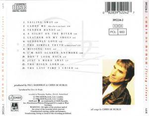Chris de Burgh: Flying Colours (CD) - Bild 3