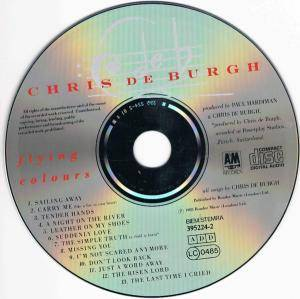 Chris de Burgh: Flying Colours (CD) - Bild 4