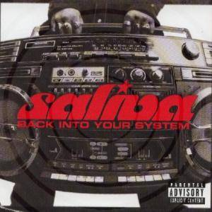 Cover - Saliva: Back Into Your System
