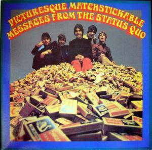 Status Quo: Picturesque Matchstickable Messages From The Status Quo - Cover