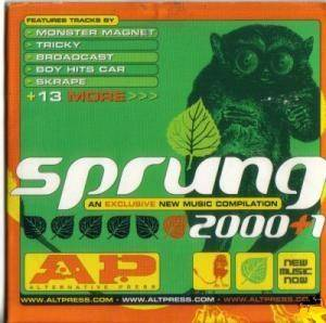 Cover - Toadies: A.P. Sprung 2000+1
