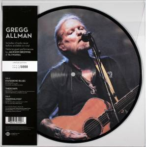 Cover - Gregg Allman: Live Picture Disc