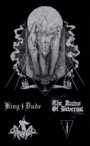 Cover - (Dolch): King Dude / Caronte / The Ruins Of Beverast / (Dolch)