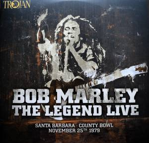 Cover - Bob Marley: Legend Live, The
