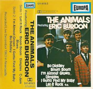 Cover - Animals, The: Animals Featuring Eric Burdon, The